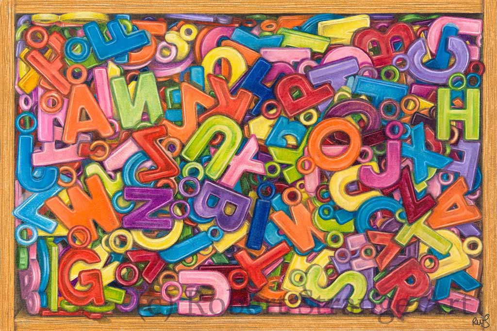 Squashed Letters